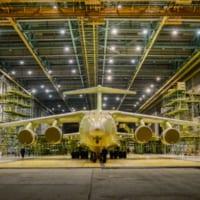 ロシア軍向けの最新大型輸送機Il-76MD-90Aの1号機が…