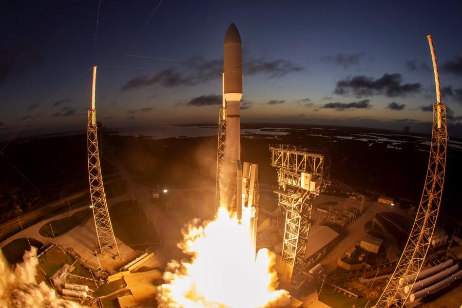 アメリカ偵察衛星打ち上げ成功 今年4機目