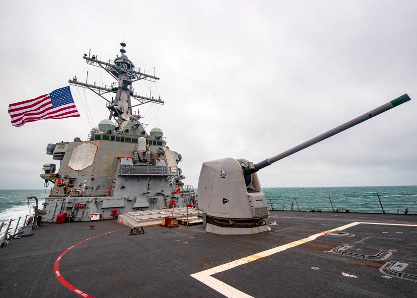 アメリカ駆逐艦バリー 台湾海峡を通過し南シナ海哨戒活動へ