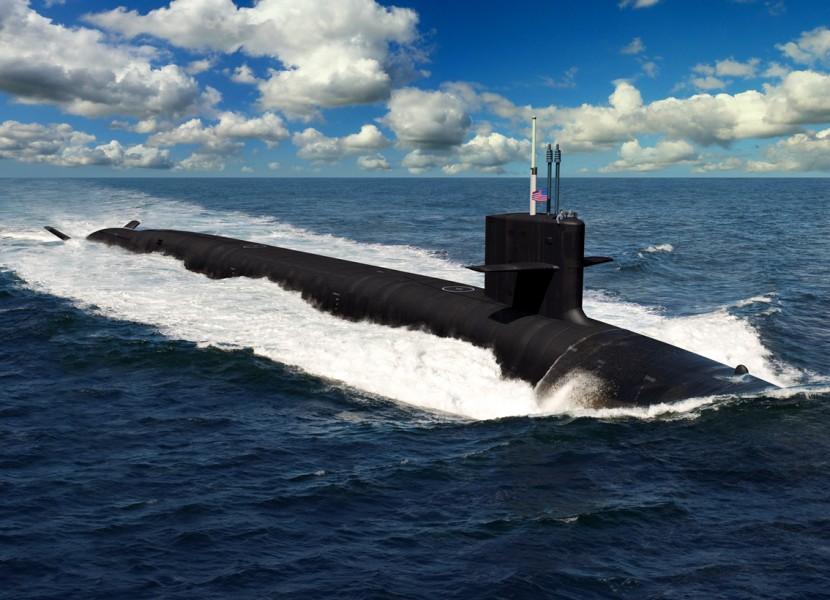 アメリカ海軍次期戦略ミサイル原潜コロンビア級 1番艦建造を正式発注