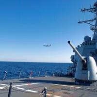 アメリカ駆逐艦ドナルド・クック 黒海でNATO航空部隊と共同…