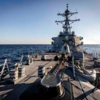 アメリカ駆逐艦が日本海で「航行の自由作戦」 ロシ…