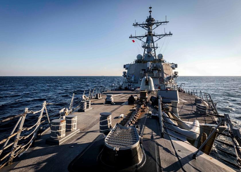 アメリカ駆逐艦が日本海で「航行の自由作戦」 ロシアは失敗と発表もアメリカは否定