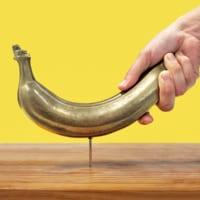 本物のバナナを金属化 「バナナハンマーDX」発売