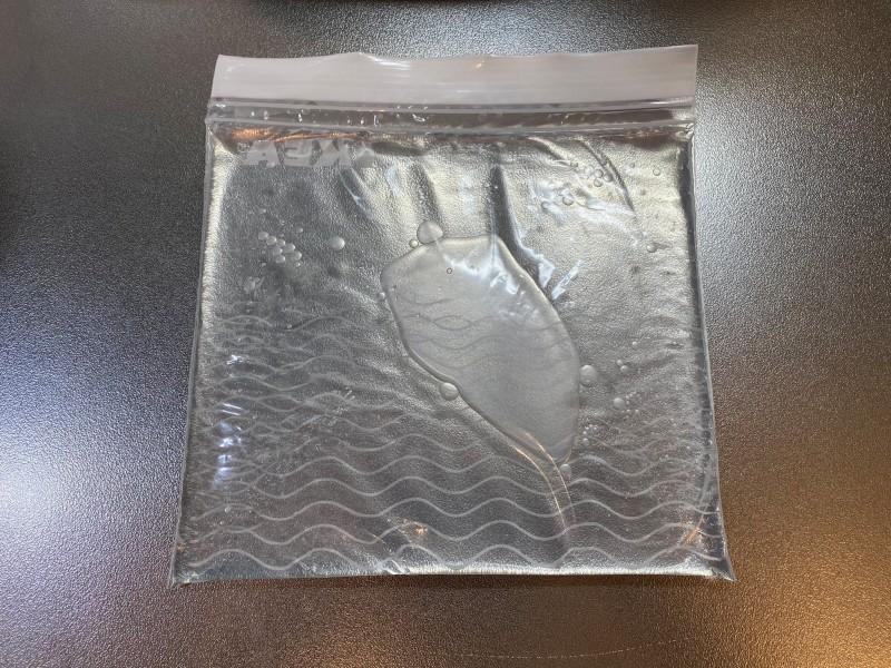 フリーザーバッグで楽チン!板氷を作るライフハック