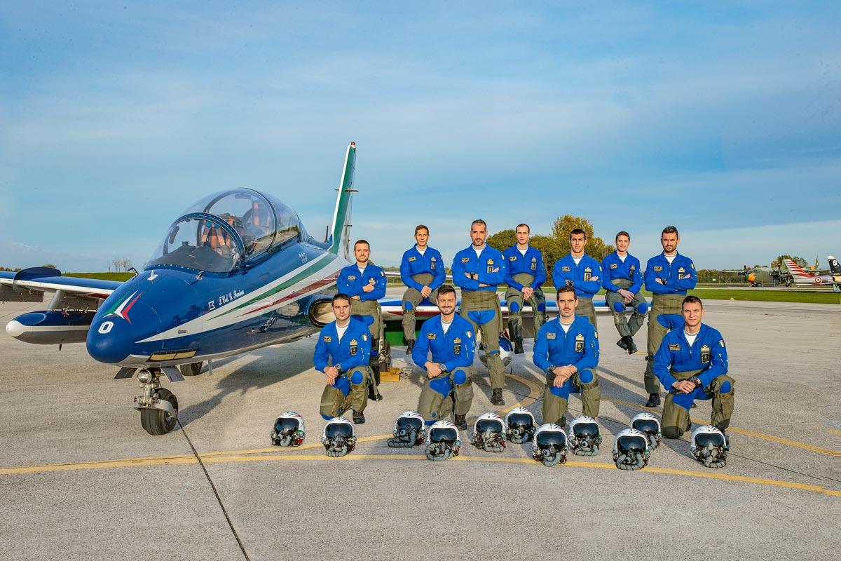 イタリア空軍フレッチェ・トリコローリ 2021年シーズンのメンバー発表