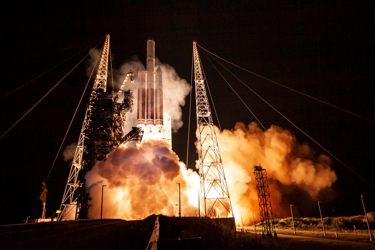 アメリカ偵察衛星NROL-44 ケープカナベラル宇宙軍基地から打ち上げ成功