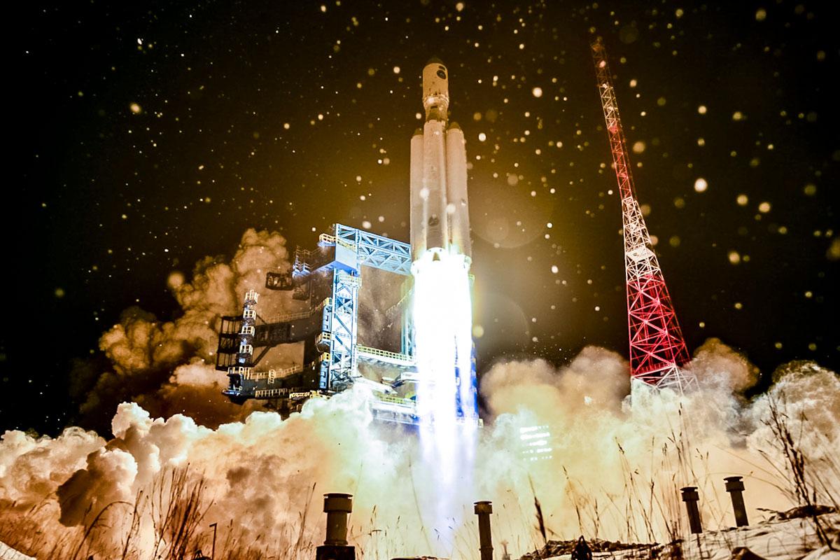 ロシアの次世代ロケット「アンガラA5」6年ぶり2回目の打ち上げ試験に成功