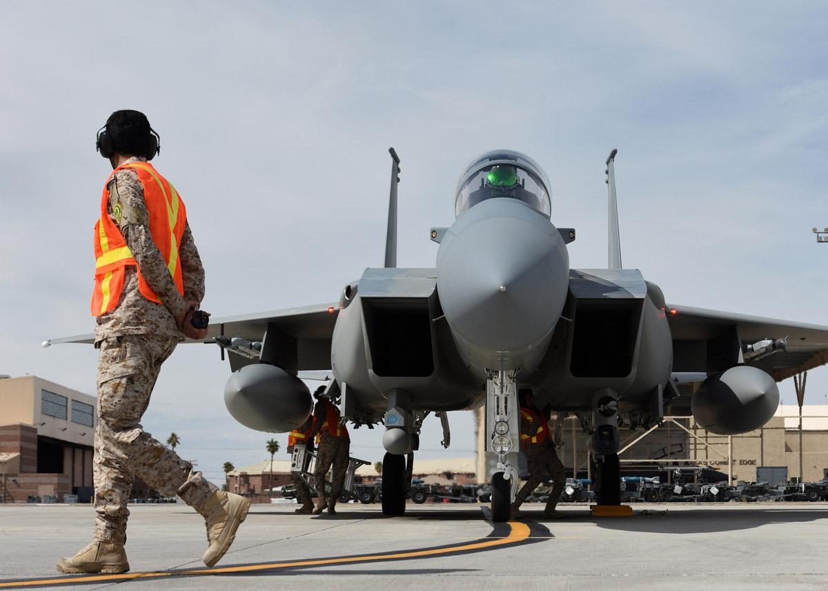 サウジアラビア向けのF-15SA 最終号機が納入完了