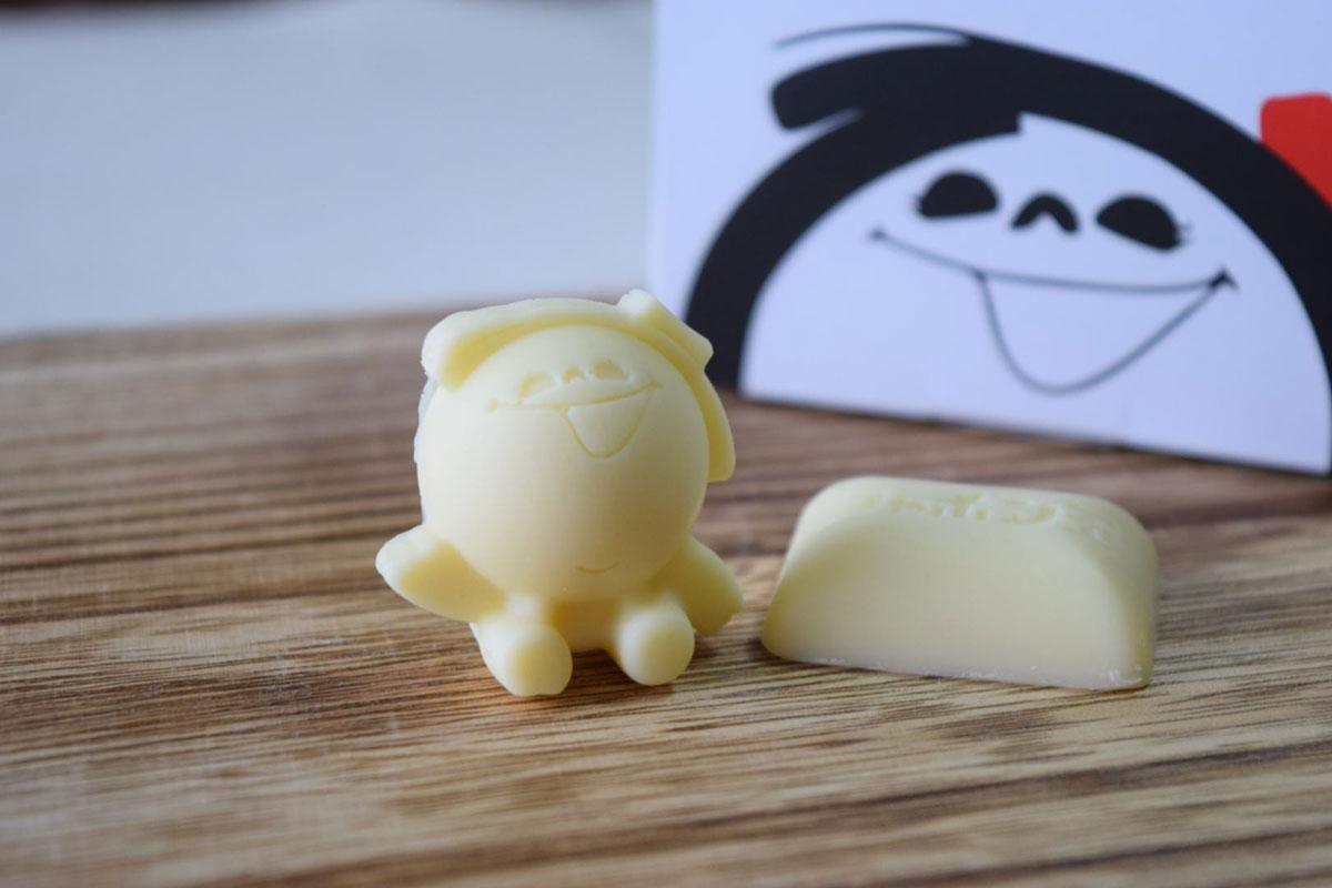 シャボン玉石けんが北九州をPR 「シャボン玉石けんチョコ」新発売