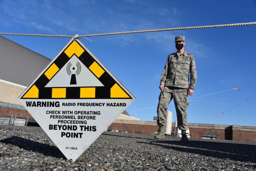 ワシントンD.C.に設置された検問(Image:U.S. Air National Guard)