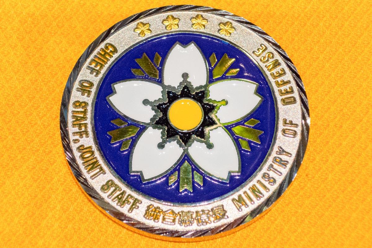 軍隊・自衛隊のチャレンジコインは連帯の証