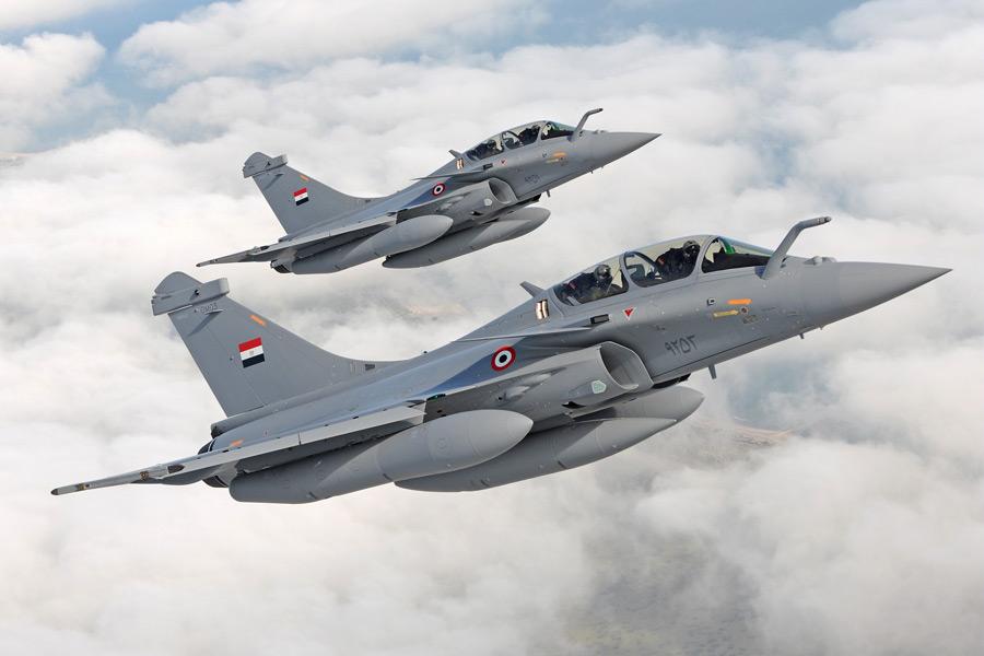 エジプト空軍のラファール(Image:ダッソー・アビアシオン)