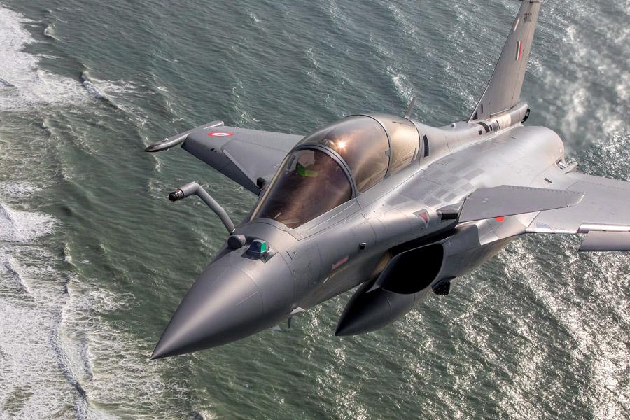 インド空軍のラファール(Image:ダッソー・アビアシオン)