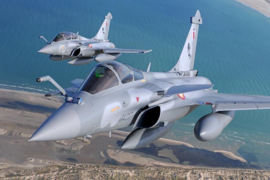 カタール空軍のラファール(Image:ダッソー・アビアシオン)