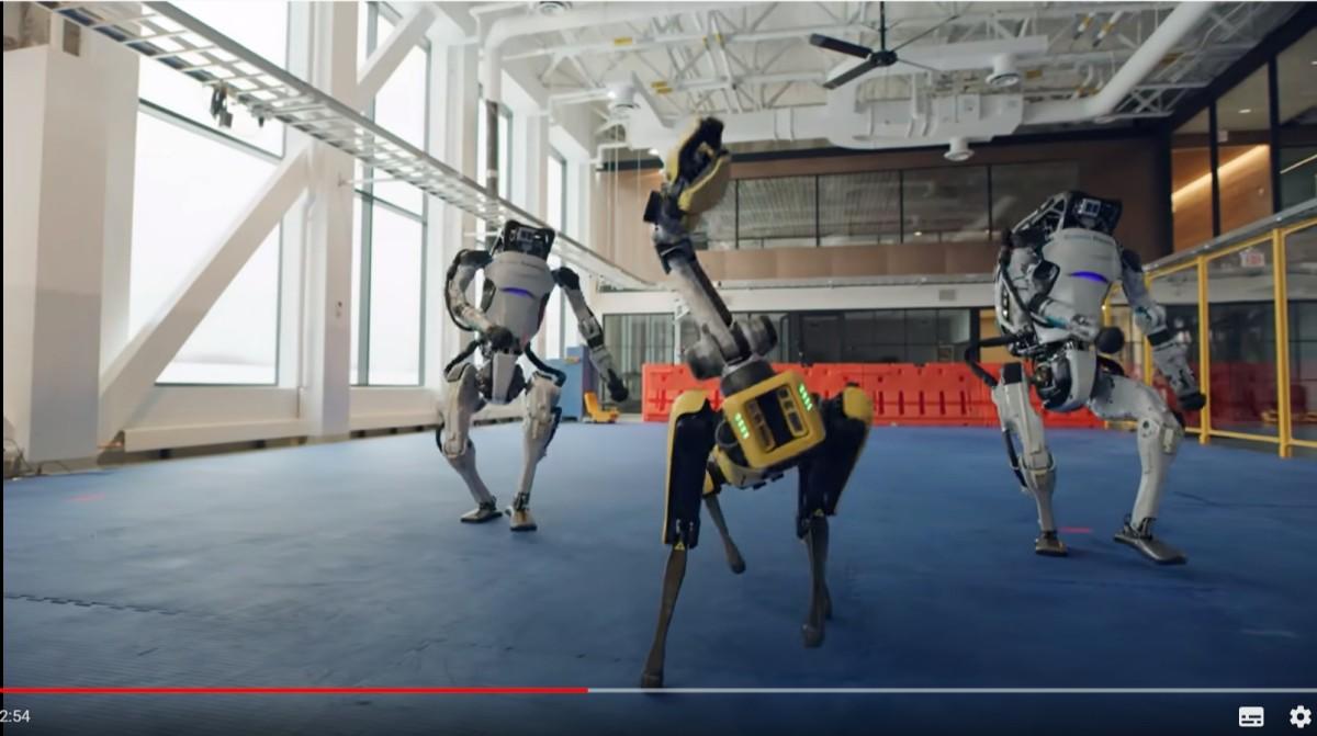 これが本当のロボットダンス!!ボストン・ダイナミクスがまたもや凄いロボットたちを紹介