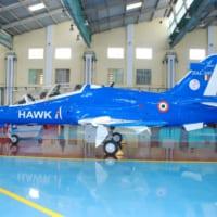 インドのホーク練習機 国産精密誘導弾の発射試験に成功
