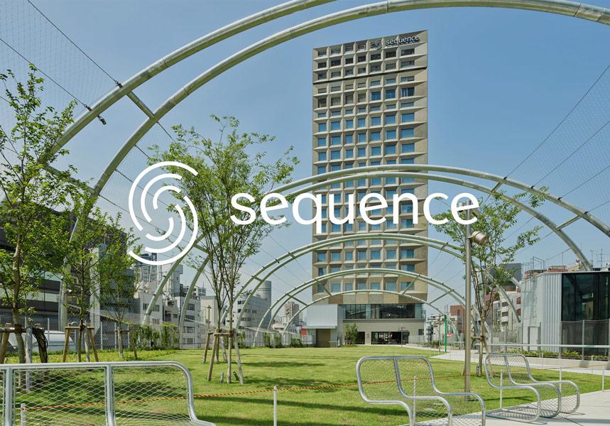 ホテル「sequence MIYASHITA PARK」では従業員のユニフォームに加工