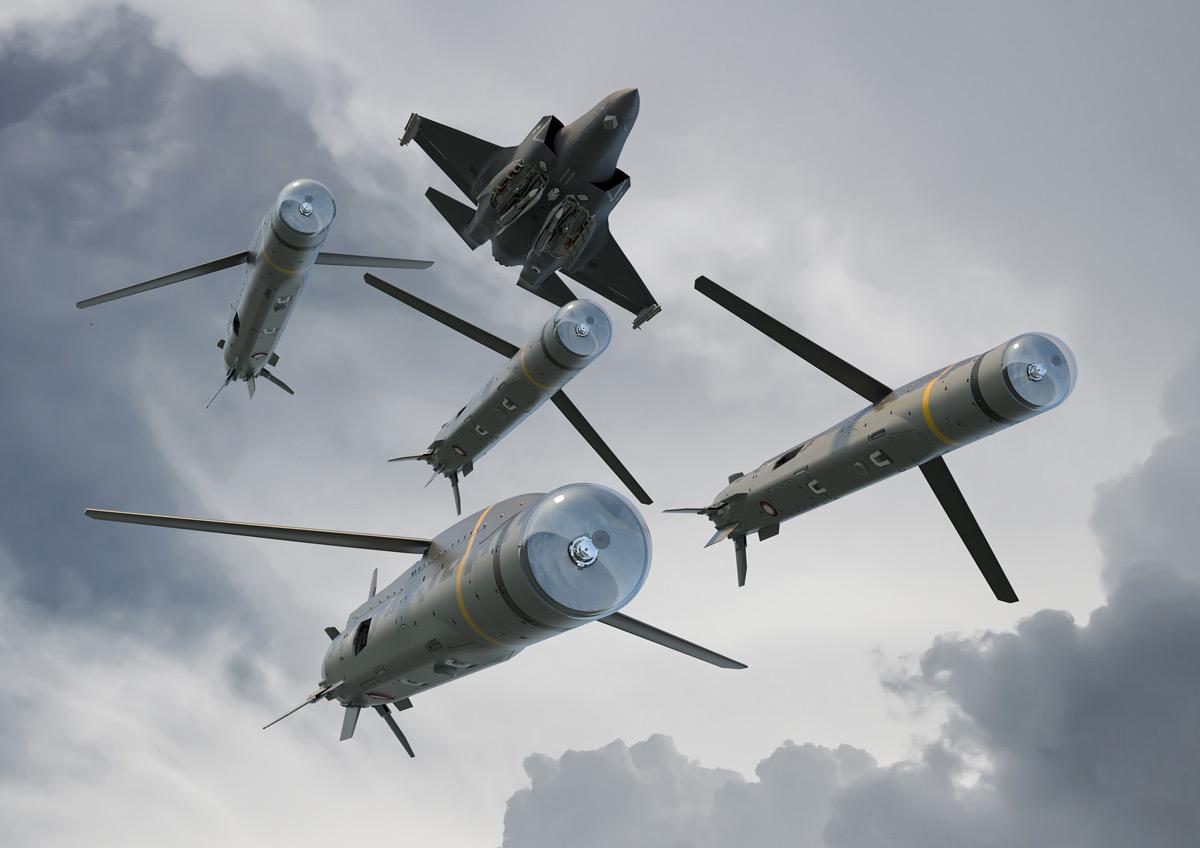 イギリス政府 F-35用の「群れで飛ぶ」小型巡航ミサイルSPEAR3を777億円で発注