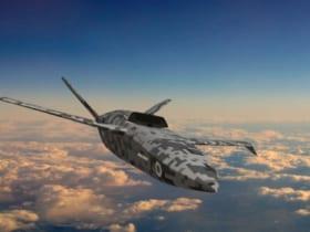 イギリスの無人戦闘機LANCA(Image:MoD Crown Copyright)