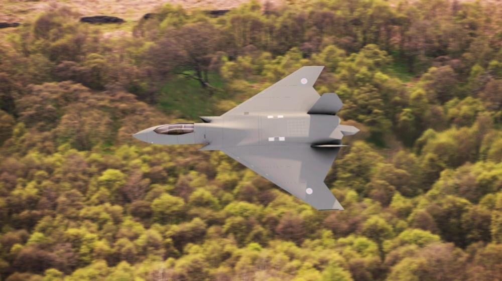 イギリスの次世代戦闘機テンペスト(Image:MoD Crown Copyright)