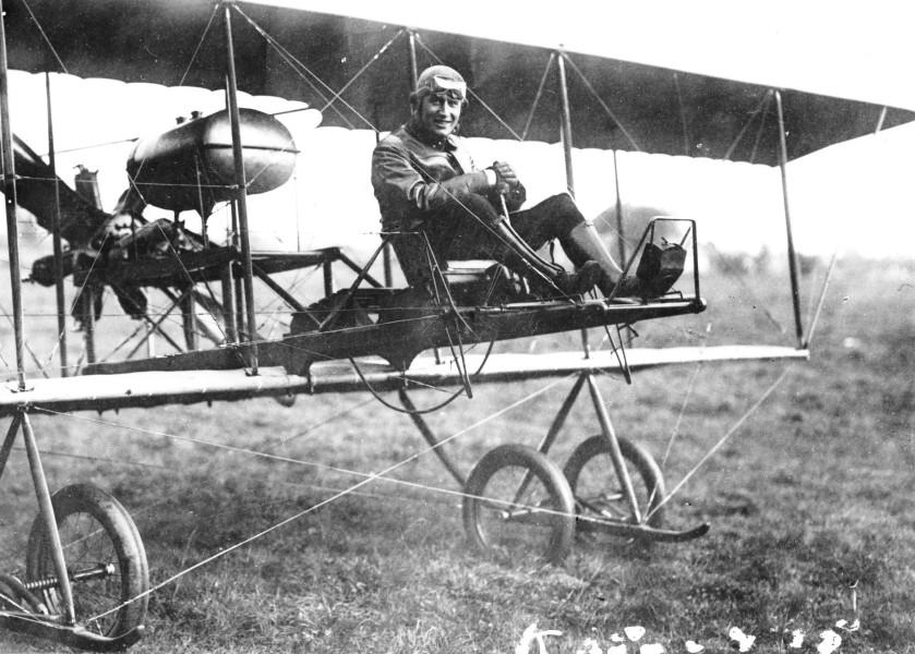 オランダ空軍初の飛行機ブリーク(De Brik)(Image:オランダ国防省)