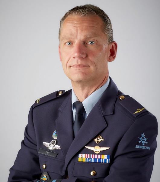 オランダ空軍参謀総長デニス・リュイト中将(Image:オランダ国防省)