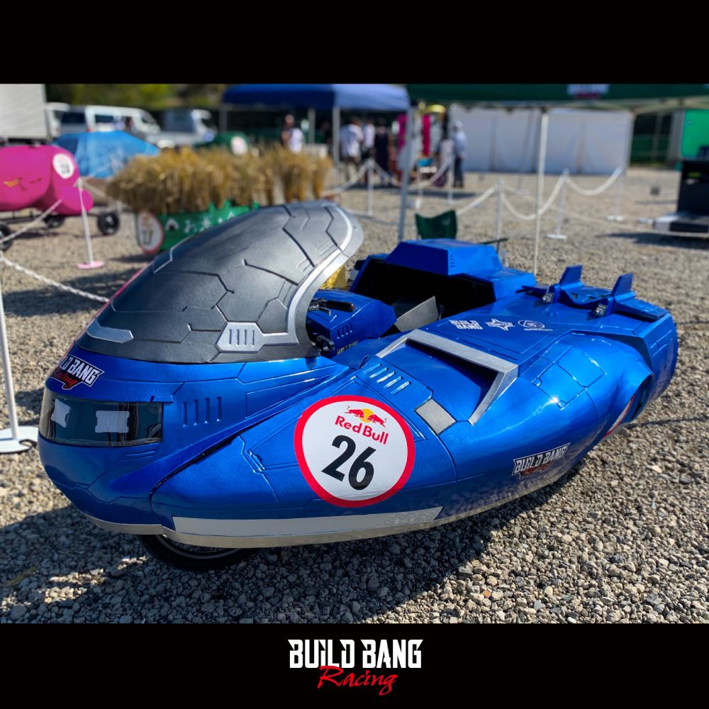 2019年10月に開催された「レッドブルボックスカートレース」に参戦するために製作したサイバリアン。