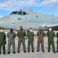 海上自衛隊P-1哨戒機 グアムでの多国間共同訓練…