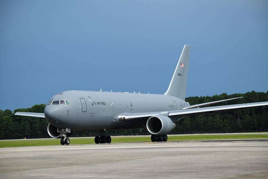 アメリカ空軍のKC-46A(Image:USAF)