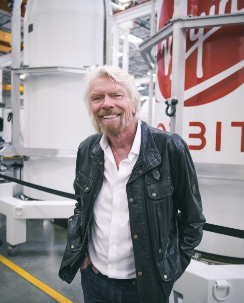 ヴァージン・オービット創設者のリチャード・ブランソン氏(Image:Virgin Orbit)