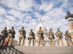 連邦議会で警備にあたる州兵(Image:U.S.National Guard)