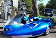 往年の名作特撮「宇宙刑事ギャバン」の愛車「サイバリアン」が令和の世にTwitterに降臨。