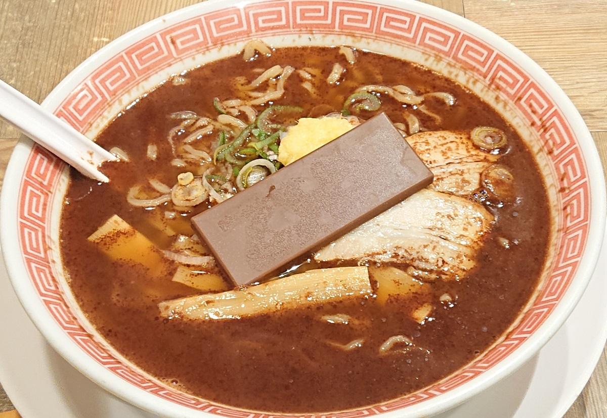 幸楽苑×ビックリマン チョコレートらーめんを食べてシールをゲット?
