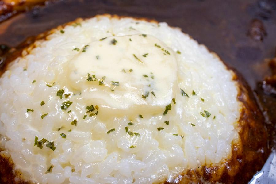 チーズがとろけて……