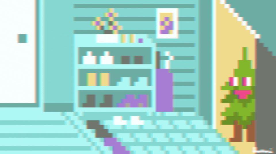 花粉症持ちが戦慄した「各家庭を訪問する杉のGIFアニメ」 放たれる花粉のようすに阿鼻叫喚