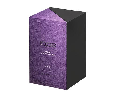 """IQOS 3 DUO """"プリズム""""モデルのパッケージ"""