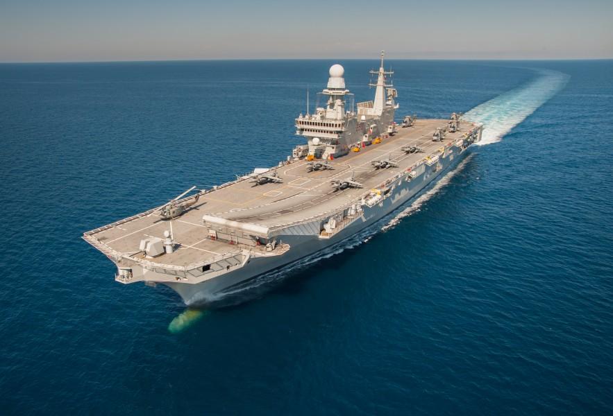 空母カヴール(Image:イタリア海軍)