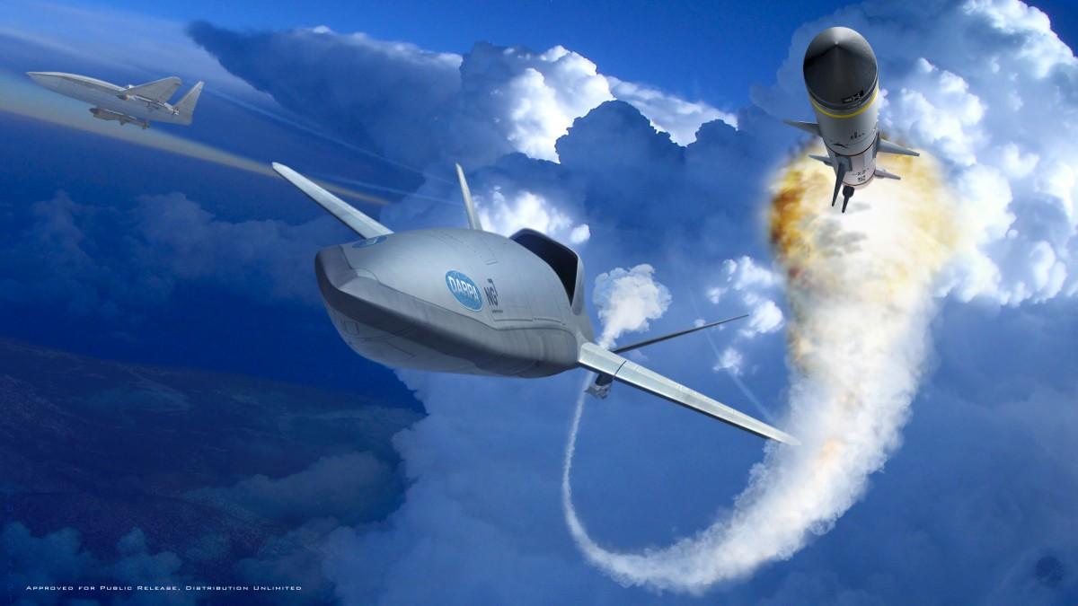 アメリカ軍 空中発進式戦闘ドローン「ロングショット」開発計画発表