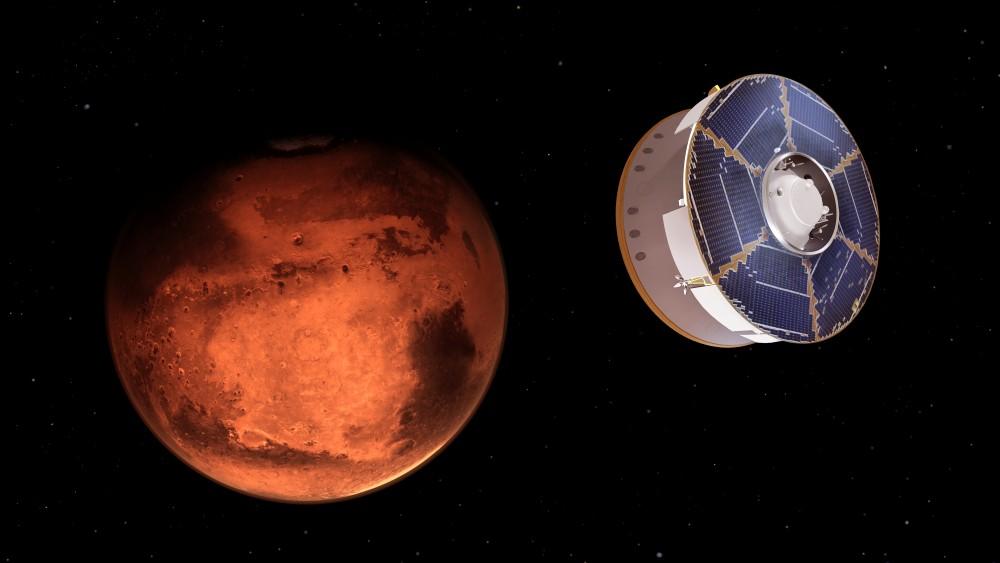 火星に接近するMARS 2020(Image:NASA)