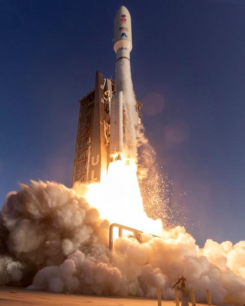 MARS 2020の打ち上げ(Image:NASA)