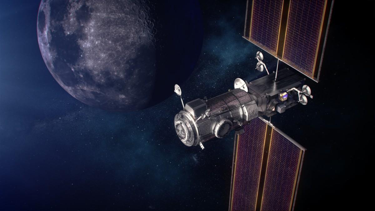 月周回ステーション「ゲートウェイ」最初のモジュールはスペースXが打ち上げ