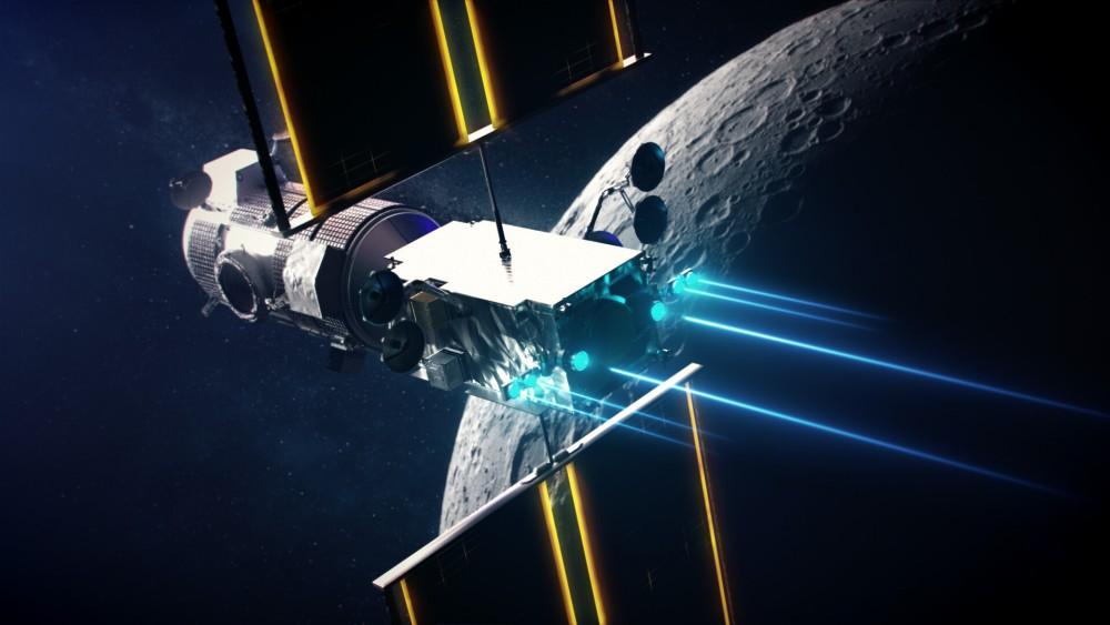 「ゲートウェイ」ステーションのPPEは電気推進で飛行可能(Image:NASA)
