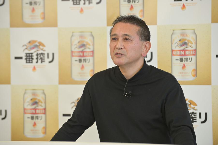キリンビールの田山マスターブリュワー