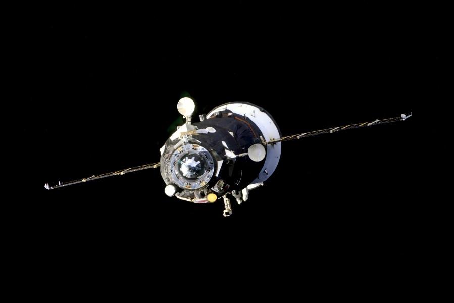 国際宇宙ステーションから離れたプログレスMS-15(Image:ロスコスモス)