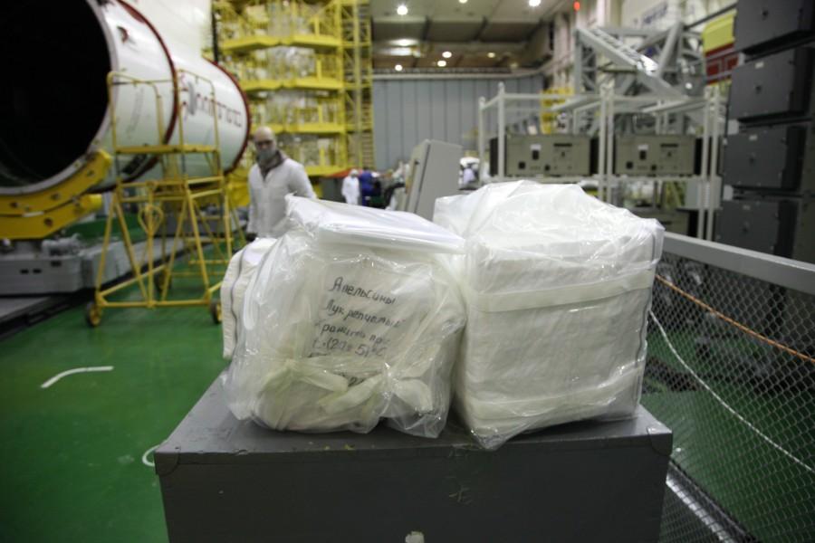 プログレスMS-16の搭載物資(Image:ロスコスモス)