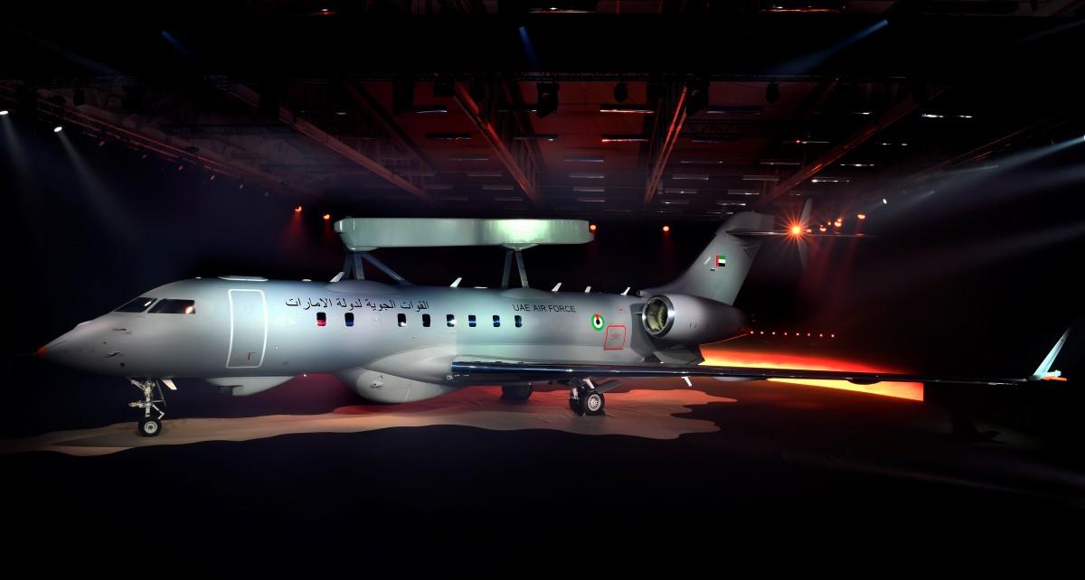 UAEが3機目のグローバルアイ早期警戒管制機を受領