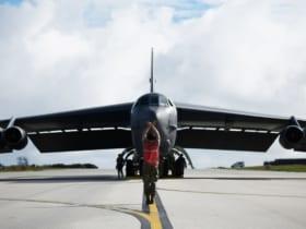 グアムに到着した第96爆撃飛行隊のB-52H(Image:USAF)