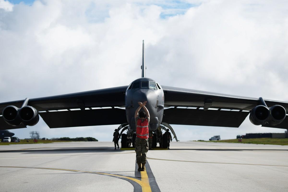 アメリカ空軍B-52が4機グアムに展開 航空自衛隊とも訓練予定