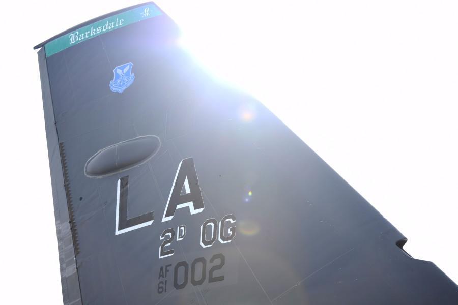 第96爆撃飛行隊のB-52H垂直尾翼(Image:USAF)